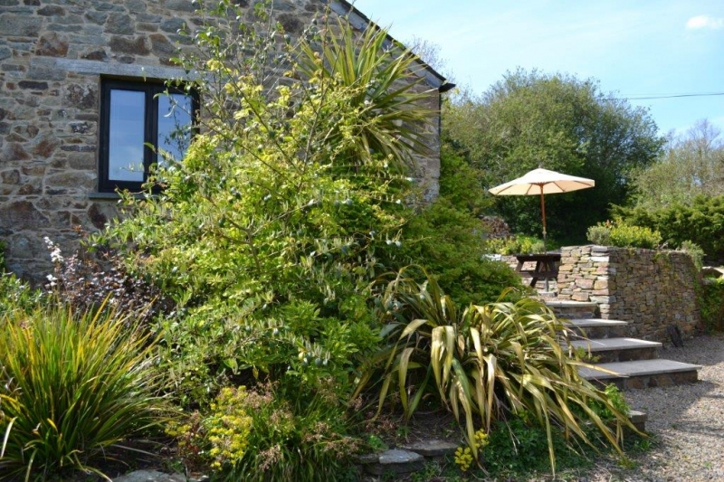Holiday cottage with private gardens in North Cornwall