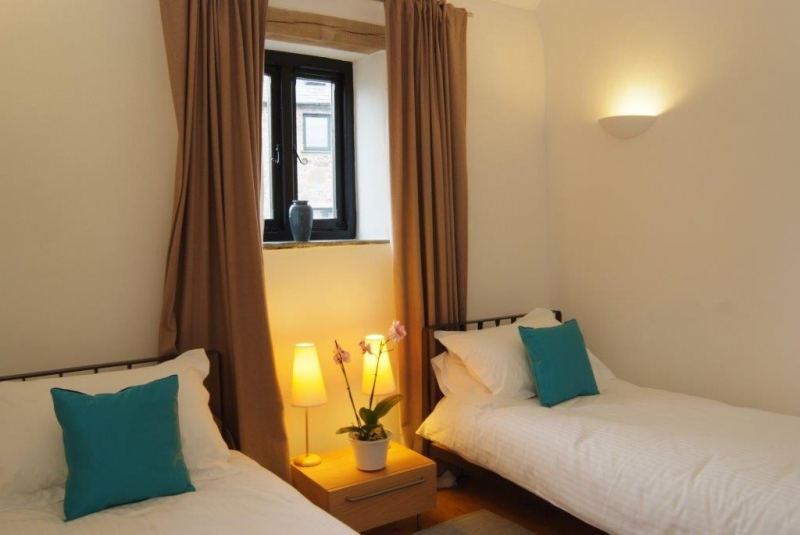 Double and twin rooms at Pottery Cottage Cornwall