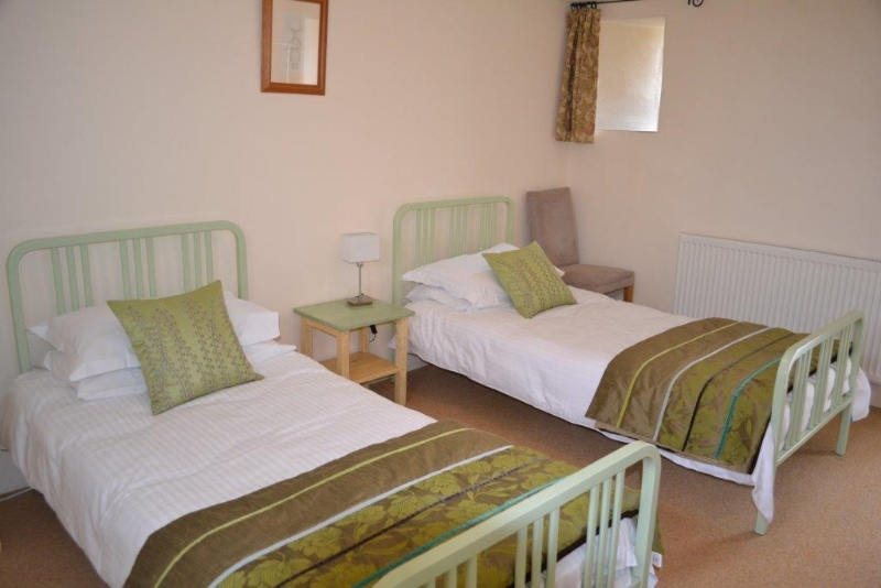 Spacious bedrooms at St Kew Holiday Cottages Cornwall
