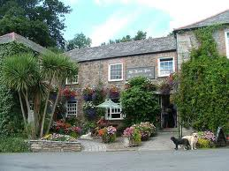 St Kew Inn, a short walk from St Kew Holiday Cottages